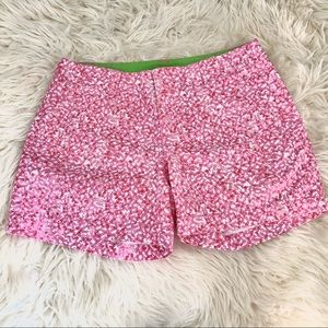 Lilly Pulitzer Pink Palm Beach Fit Shorts